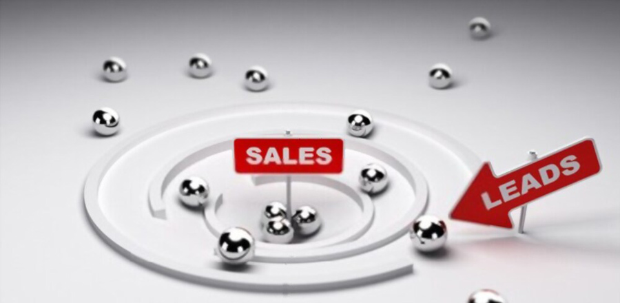 What are leads in sales of the office