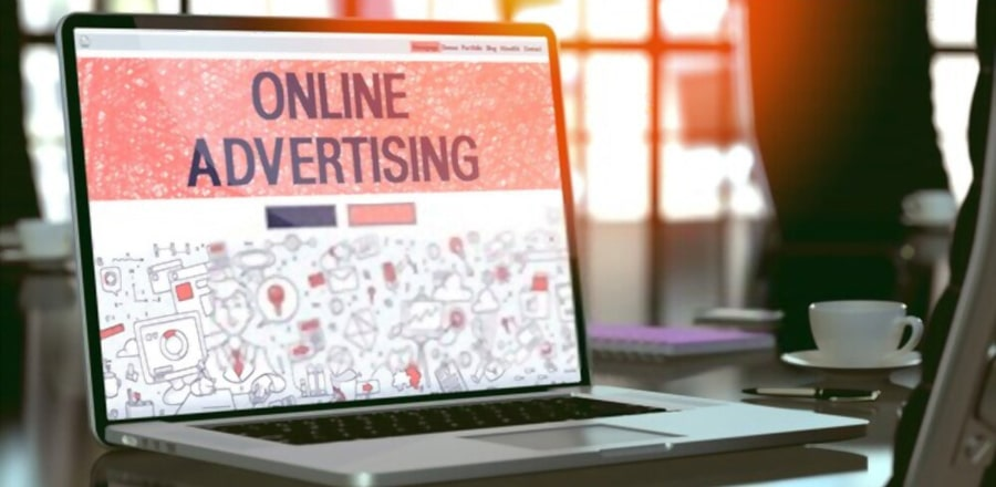 What is the benefit of online advertising with Google AdWords