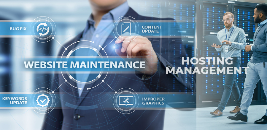 What is the Difference between Hosting Management and Site Maintenance 1