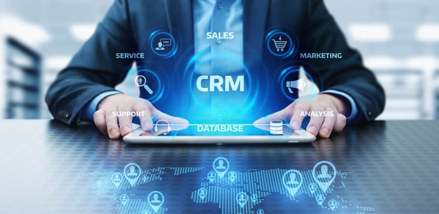 How does CRM work