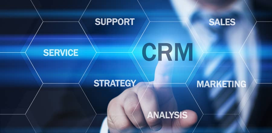 What does CRM stand for in sales