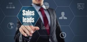 What are leads in sales
