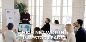 High Net Worth Investor Leads