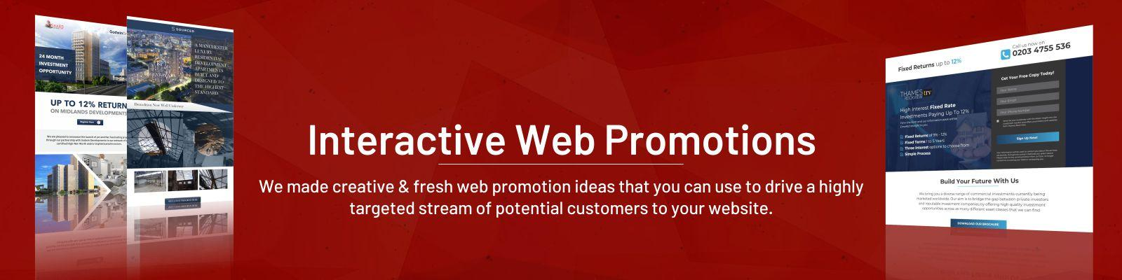 Interactive Web Promotions