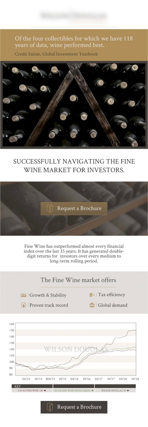 HTML Flyer wine investment